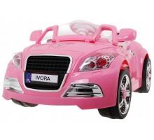 Auto dla dzieci wzorowane na Audi TT CABRIO + pilot - kolor różowy